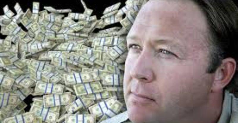 alex jones net worth